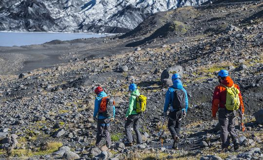 Private South Coast Tour and Glacier Hike
